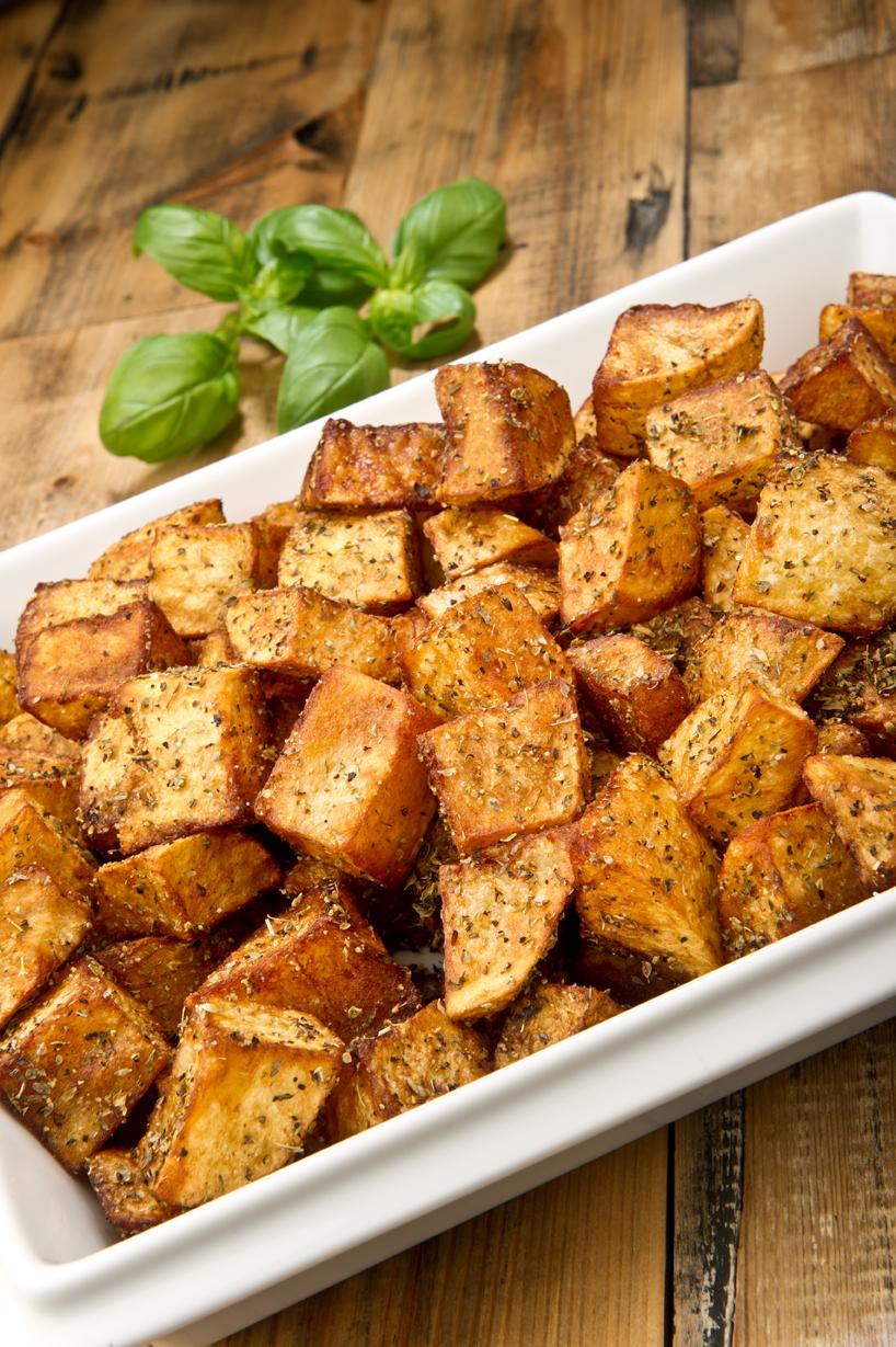 Christmas catering roast potatoes