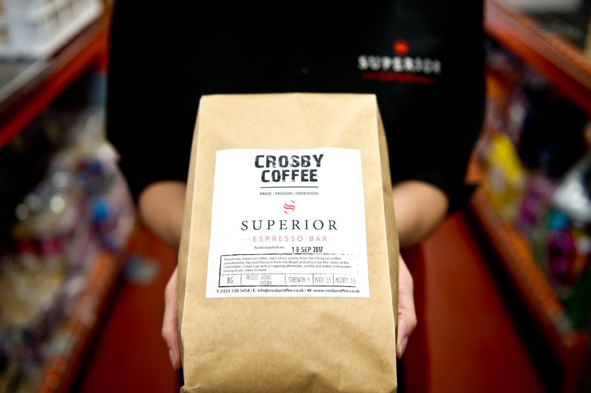 Crosby coffee espresso bar