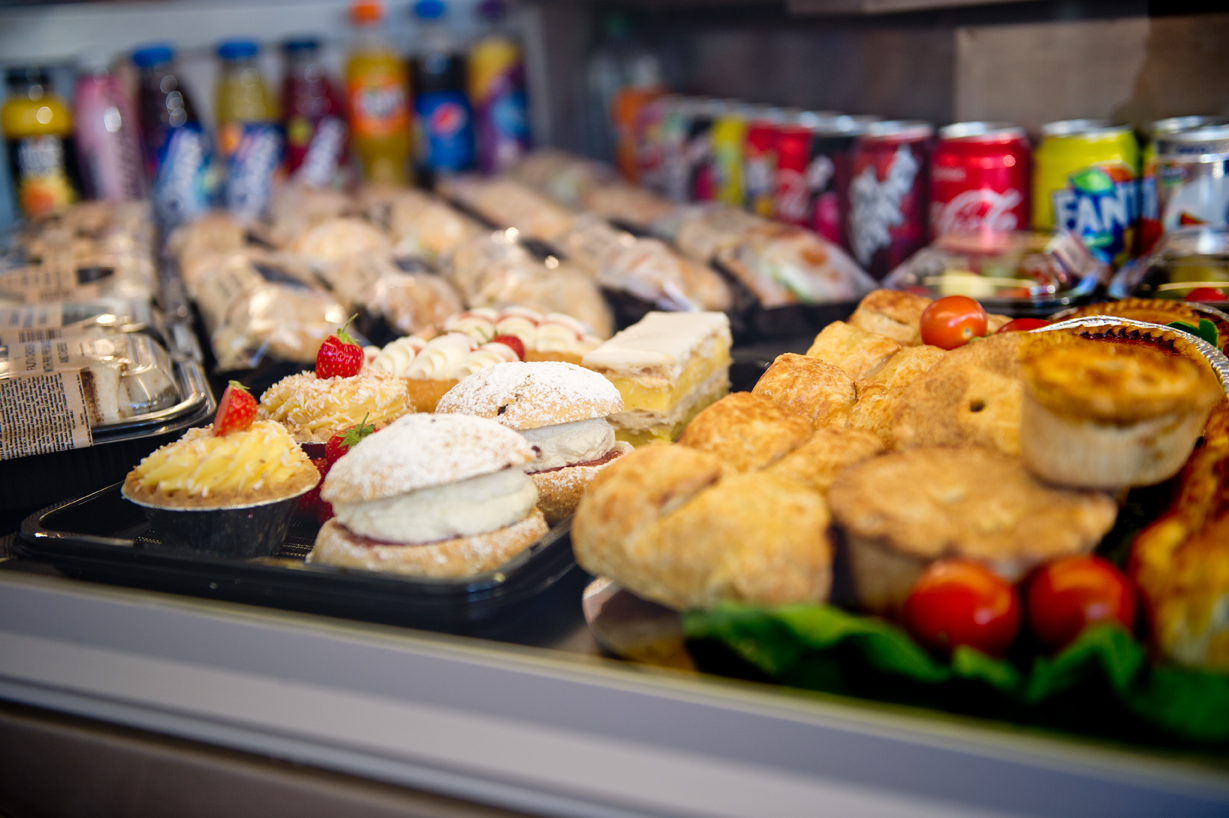 Huge selection of sweet and savoury catering options